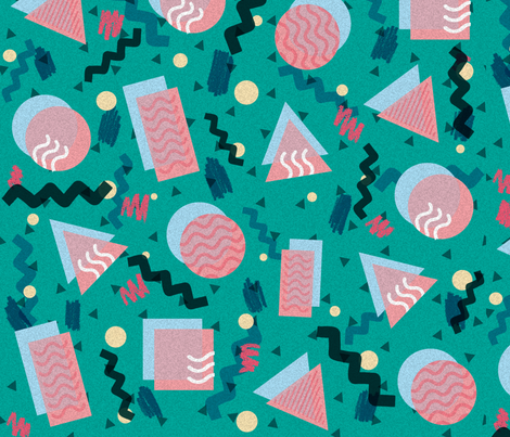 memphispattern fabric by b_lakin_illustration on Spoonflower - custom fabric