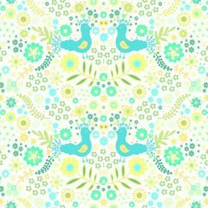 Scandinavian peacock