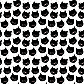 Black Cats and Whiskers Confetti - small
