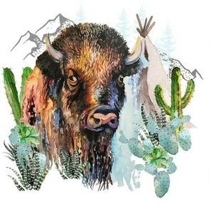 "8"" Boys Aztec Boho Buffalo"