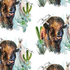 "4"" Boys Aztec Boho Buffalo"