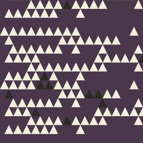 Classic Triangle-AUBERGINE