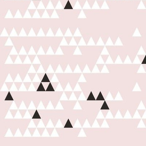 Classic Triangle-BLUSH