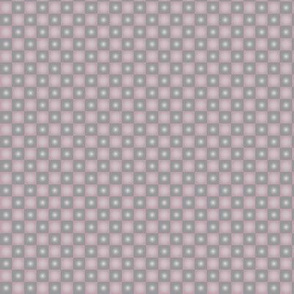 Pink and Grey Gradient Check Squares q1h