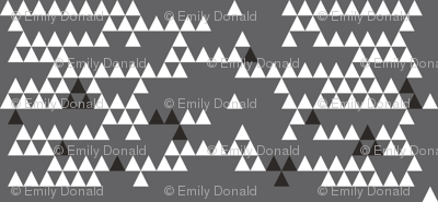 Classic Triangle-CHARCOAL