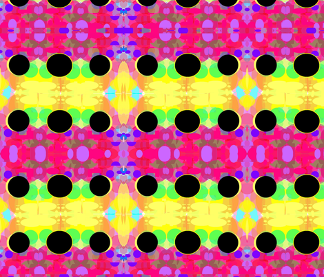 Color Study- Eclipse fabric by feralartist on Spoonflower - custom fabric