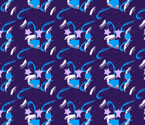 Stars fabric by sleepytown_beagles on Spoonflower - custom fabric