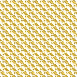 Geo Fingers Mustard