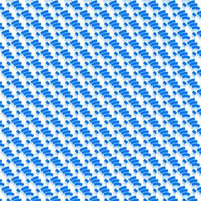 Geo Fingers Blue