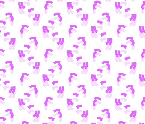 Inverted Commas Violet fabric by abbieuproot on Spoonflower - custom fabric