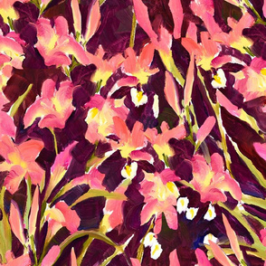 Lily Garden Print - Large