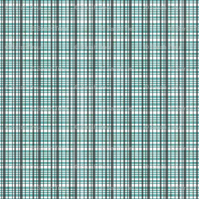 Light Teal Plaid