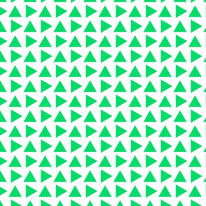 Teeny pointy green