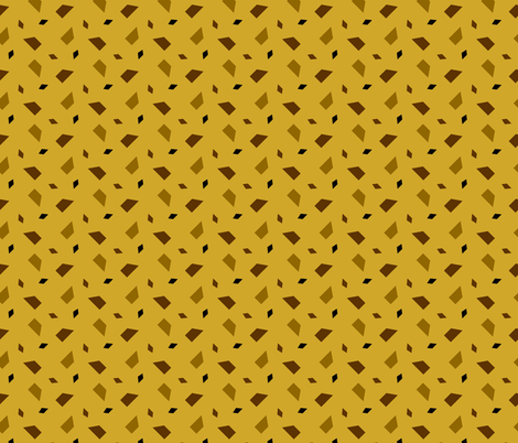 Chips Mustard fabric by abbieuproot on Spoonflower - custom fabric