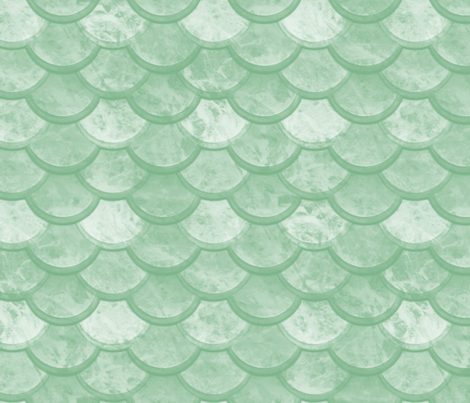 Watercolor Marble Scales ~ Jade fabric by peacoquettedesigns on Spoonflower - custom fabric