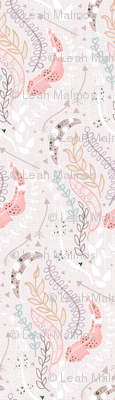 Feather Leaves and Arrows Boho