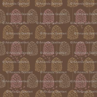 Forest creatures - Pine Cones