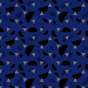 Rotary Dialling Confetti Dark Blue