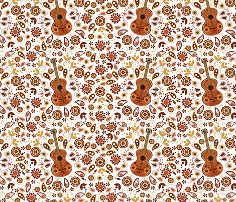 Serenade Me fabric by applebutterpattycake on Spoonflower - custom fabric