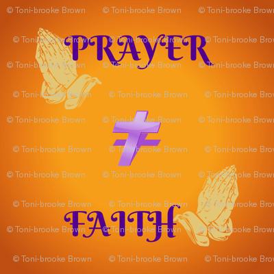 prayer faith cross