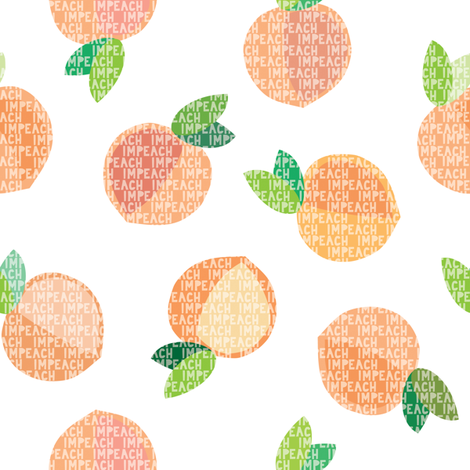 Impeach fabric by thelongthread on Spoonflower - custom fabric