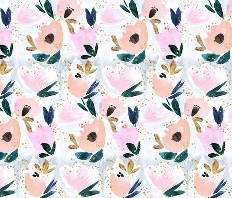 Day Dream Bloom fabric by crystal_walen on Spoonflower - custom fabric