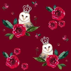 "8"" WINTER OWLS / MIX & MATCH / RED VELVET"