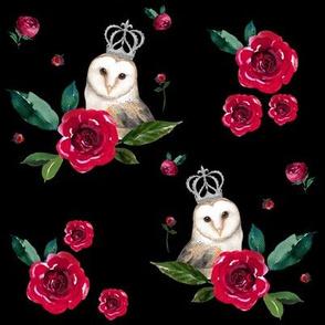 """8"""" WINTER OWLS / MIX & MATCH / BLACK"""