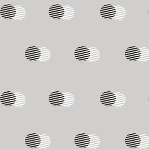 Striped Circle-DOVE