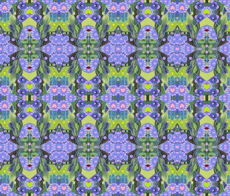 Wisdom Rising - The Original fabric by helena_tiainen on Spoonflower - custom fabric