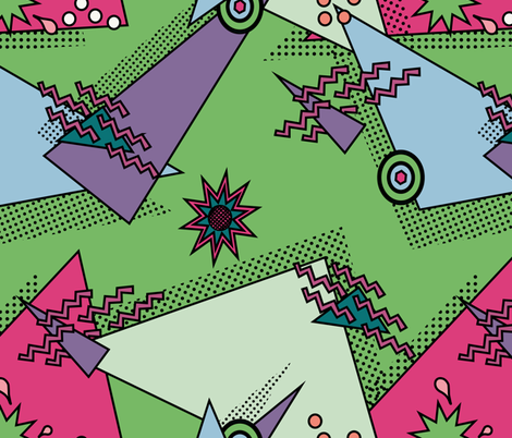 Totally Rad fabric by emimarie on Spoonflower - custom fabric
