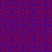 SHANGHAI CIRCLES Purple & Red