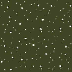 Scattered Stars-Olive