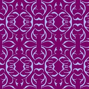 SHANGHAI CIRCLES Wine & Lavender