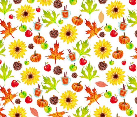 Fall fabric by jadegordon on Spoonflower - custom fabric