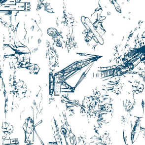 ADVENTURE TOILE INDIGO_ROTATE