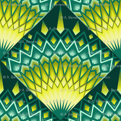 Green Sun Tiles