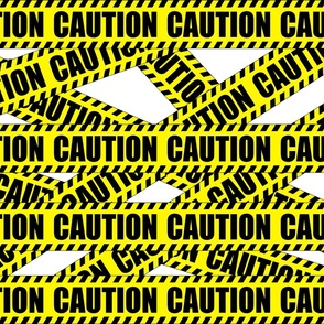 1 caution barricade construction notice warning danger hazard barrier police firefighter tape diagonal stripes life sized pop art novelty