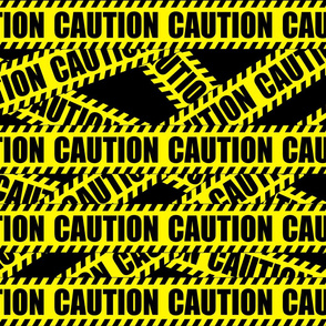 2 Caution Barricade Construction Notice Warning Danger Hazard Barrier Police Firefighter Tape Diagonal Stripes Life Sized