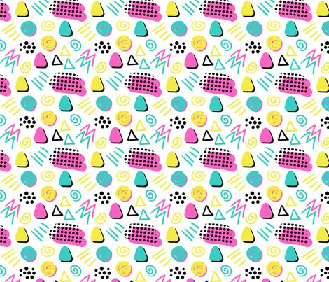 memphis2 fabric by walkingmombiedesing on Spoonflower - custom fabric