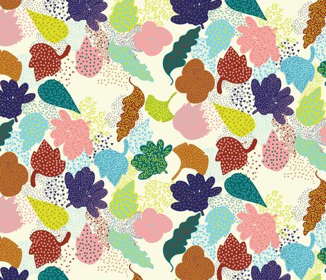 Memphis_blooms fabric by yasminah_combary on Spoonflower - custom fabric