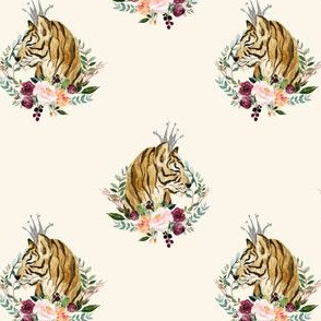 "4"" Wild at Heart / Basic Print / Ivory"