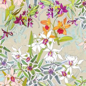 Orchid Jungle II Beige 200