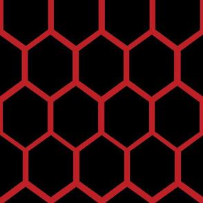 Melisandre Hexagon Black