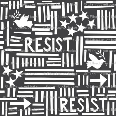 Resist (large gray)
