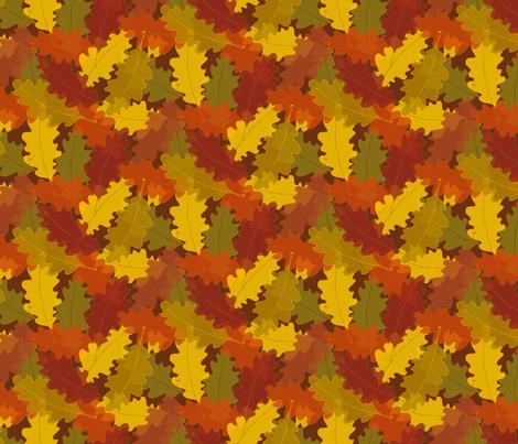 Oak Pile fabric by seesawboomerang on Spoonflower - custom fabric