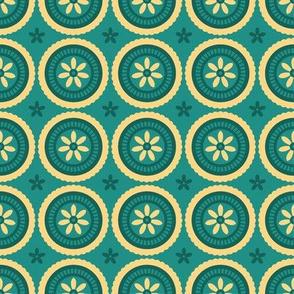 Swedish Flower Dots 2