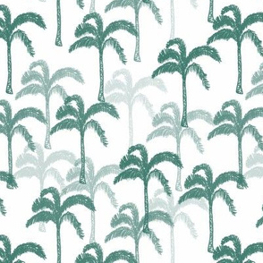Artemis palm tree green and white