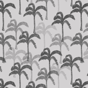 Artemis palm tree black and grey
