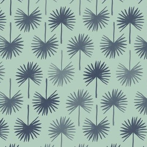 Ceres palm leaf in green